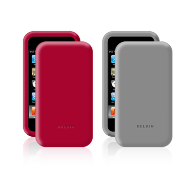 Simple Silicone Sleeve, 2-pack for iPod Touch 2G