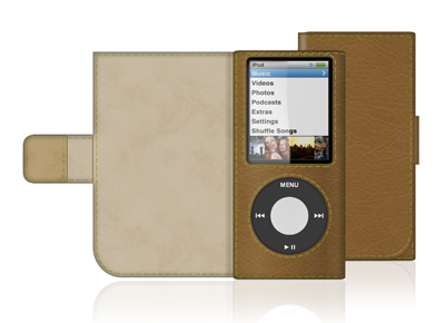 Eco-Conscious Folio for iPod Nano 4G