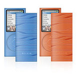 Sonic Wave Silicone Sleeve, 2-pack for iPod Nano 4G