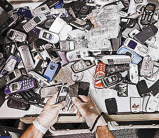 Pictures of a Cell Phone Recycling Center, ReCellular