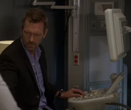 Dr. House Puts the Ultra in Ultrasound Machine