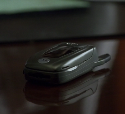 House Has a Motorola Flip?