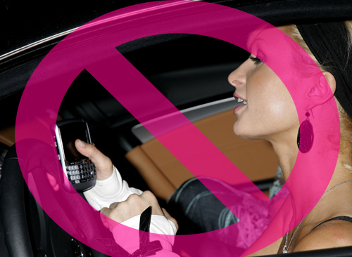Texting While Driving Gets Banned in California