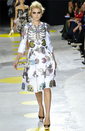 Do You See What I See? It's a Designer Pac Man Dress!