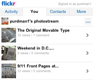 Flickr Gets Cell Phone Friendly