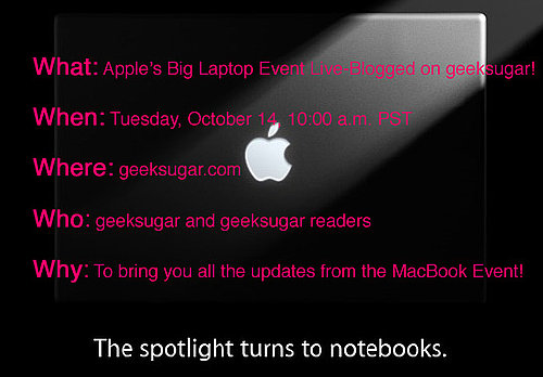 Catch All the Apple Action on geeksugar Tomorrow!