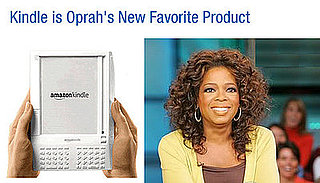 Does Oprah's Endorsement Make You Want a Kindle More?