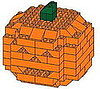 Geek Tip: How to Build a Lego Jack-o&#039;-Lantern! 