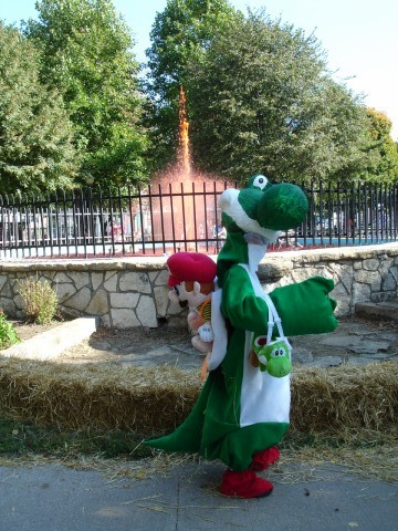And the winner is. . . Yoshi!