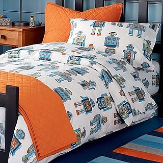 To Be 13 Again: Robot Bedding