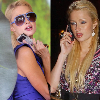 Paris Hilton and All of Her Cell Phones!