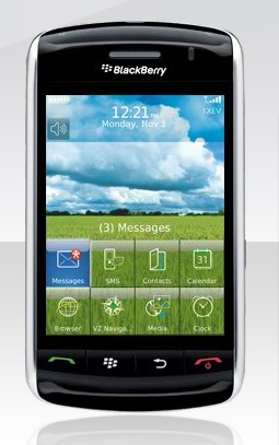 BlackBerry Storm in Stores, Features Button-Like Touch Screen