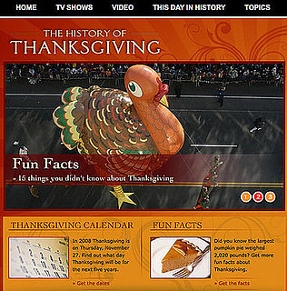 Website of the Day: The History of Thanksgiving