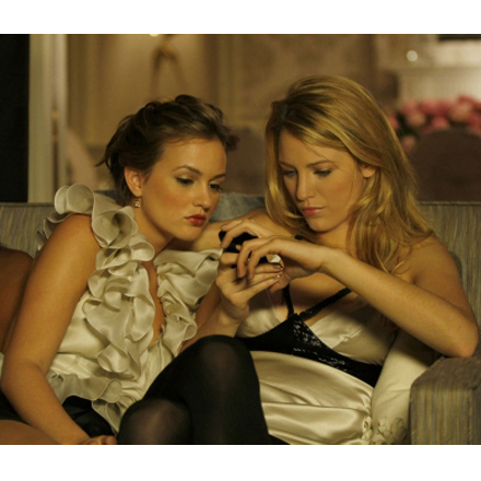Serena van der Woodsen's Cell Phone Evolution