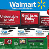 Walmart Drops Prices on TVs Too!