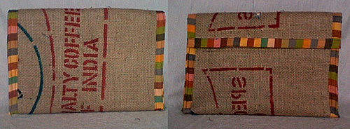 Upcycled Coffee Bag Laptop Sleeve: Love It or Leave It?