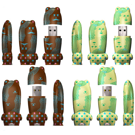 Mimobot Flash Drives