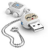 Robot Laura Swarovski Flash Drive