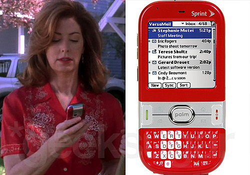 Katherine's Red Hot Smartphone on Desperate Housewives