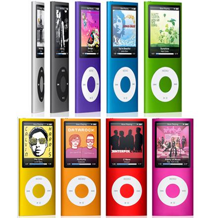 New iPod Nanos