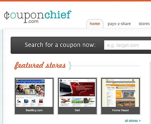 Find Online Coupons From Coupon Chief
