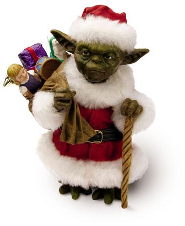 Yoda Santa