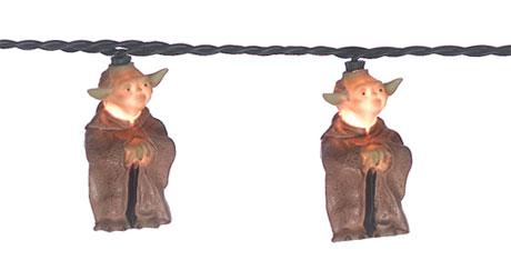 Yoda Twinkle Lights