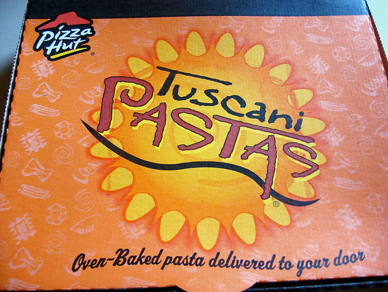 Pizza Hut's Tuscani Lasagna