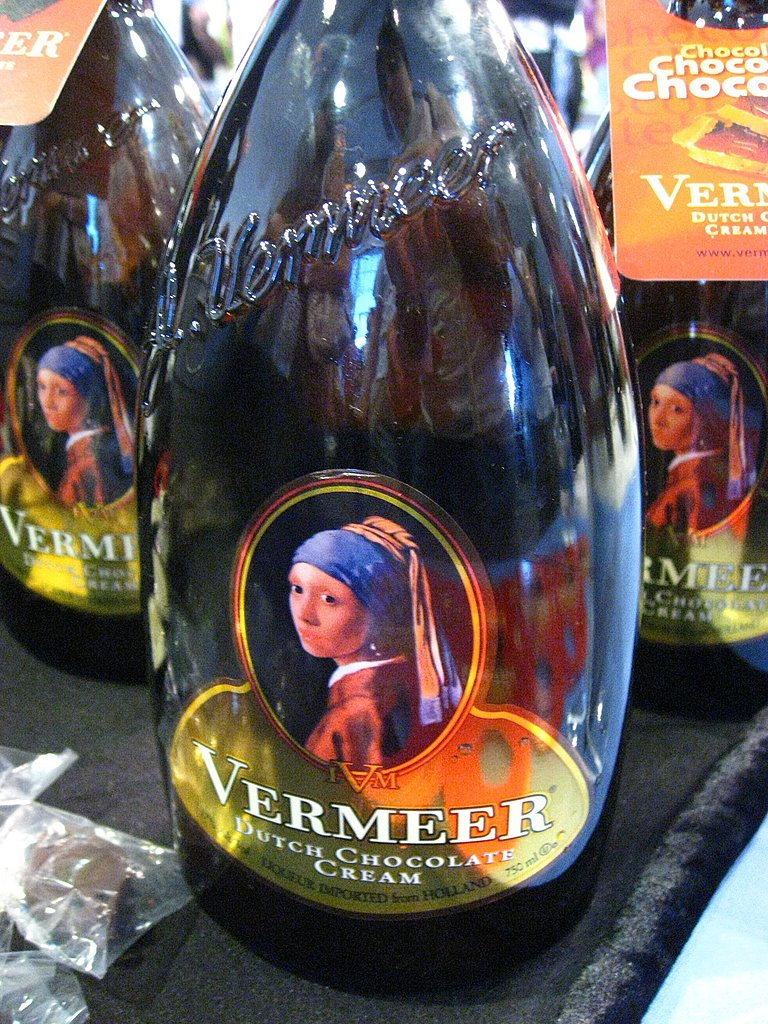 Next we coated our palates with Vermeer Dutch Chocolate Cream. It was rich and thick and would be great as a little something sweet after dinner.