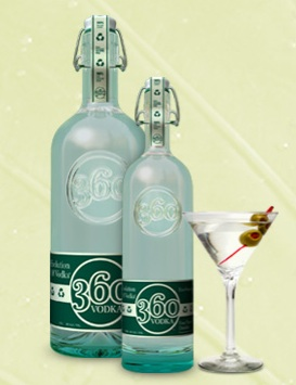 Earth Day Happy Hour: 360 Vodka