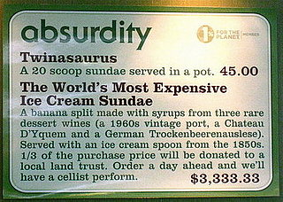 What Exactly Is in a $60,000 Ice Cream Sundae?