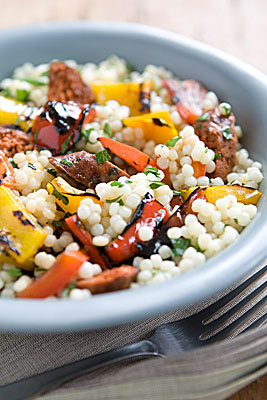 Lamb & Pearl Couscous Salad