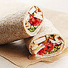 Monday&#039;s Leftovers: Peanut Tofu Wrap