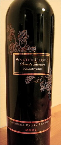 Happy Hour: 2003 Walter Clore Private Reserve Red