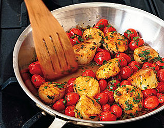 Monday's Leftovers: Sautéed Scallops With Cherry Tomatoes