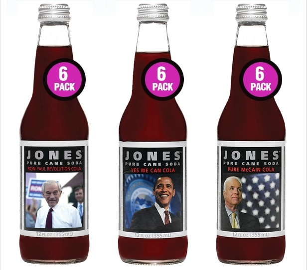 Jones Soda Campaign Cola
