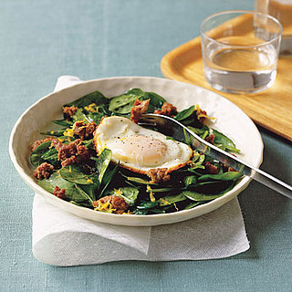 Monday's Leftovers: Warm Spinach and Sausage Salad