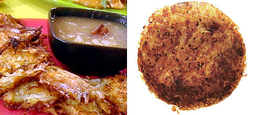 Latkes Two Ways — Beginner and Expert