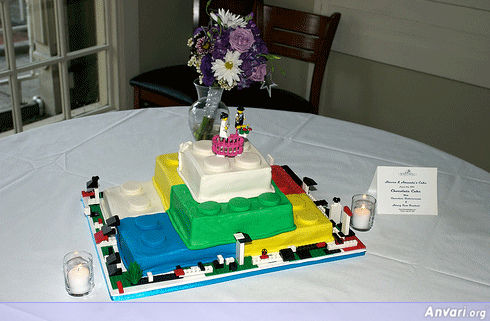 Lego Cake Take Two