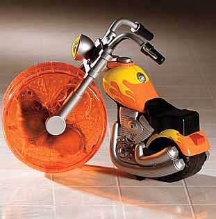Critter-Operated Chopper ($17)