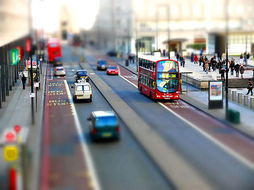 Photos Made to Look Like Miniature Models