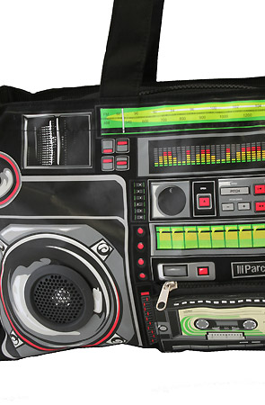 Ghetto Blaster Tote Bag