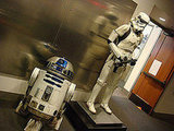 Storm Trooper and R2D2