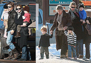 Photos of Julia Roberts and Danny Moder in New Mexico with Hazel, Phinneaus and Henry