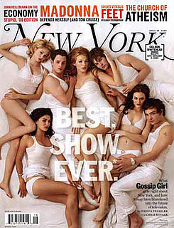 The Cast of Gossip Girl on the Cover Of New York Magazine in Their Underwear