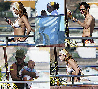 Jennifer Lopez Bikini Photos With Babies And Marc in Spain