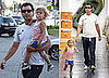 Photos of Gavin Rossdale and Kingston Rossdale Shopping for Sporting Goods in LA