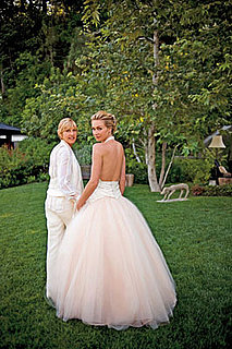 Ellen DeGeneres and Portia de Rossi Wedding Photo and Blog