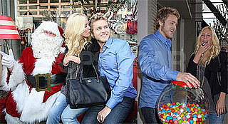 Heidi and Spencer Have Ho-Ho-Holiday Cheer With Santa