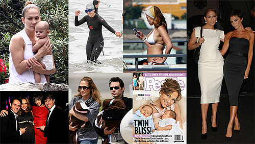 Biggest Headlines of 2008: Jennifer Lopez From Twins to Bikinis and More